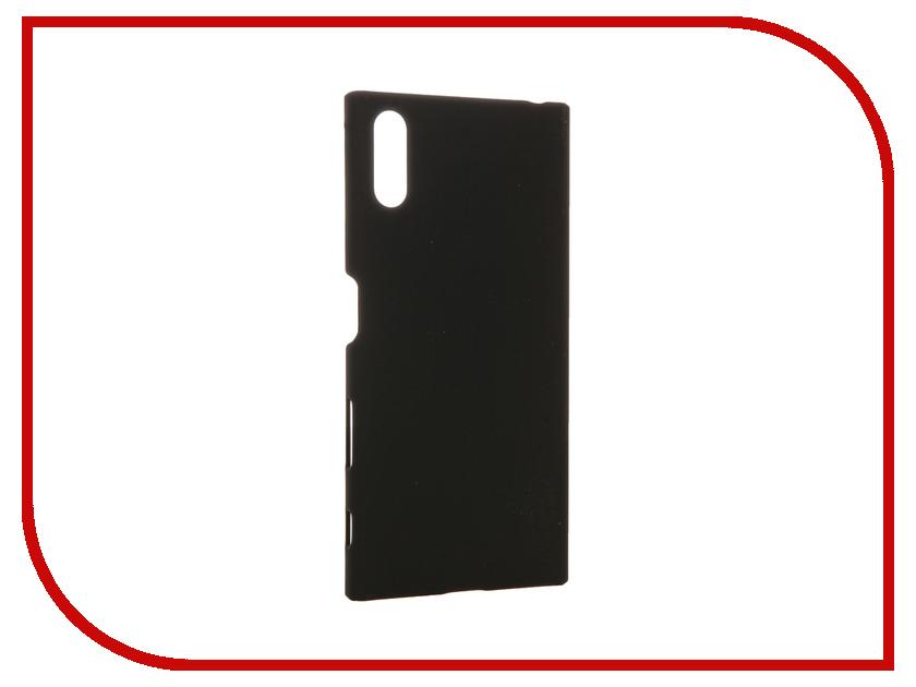 Аксессуар Чехол Sony Xperia XZ BROSCO Soft Touch Black XZ-SOFTTOUCH-BLACK<br>