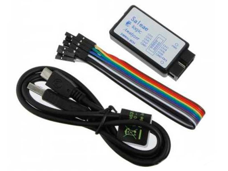 Конструктор Логический анализатор Радио КИТ USB Saleae RI024 конструктор радио кит ампер вольтметр dsn vc288 ri048