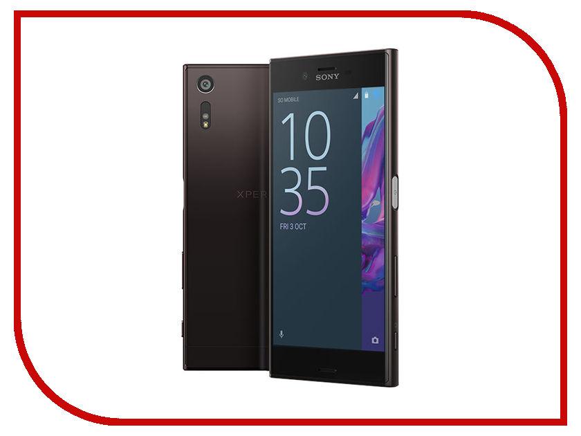 Сотовый телефон Sony F8331 Xperia XZ Mineral Black сотовый телефон sony f5321 xperia x compact black