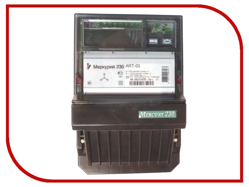 Счетчик электроэнергии Меркурий 230 ART-01 CLN 5-60A 220/380В