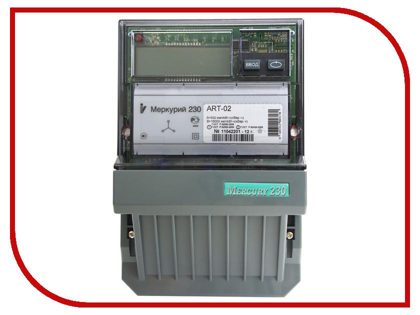 Счетчик электроэнергии Меркурий 230 ART-02 PQRSIN 100/10A 220/380В