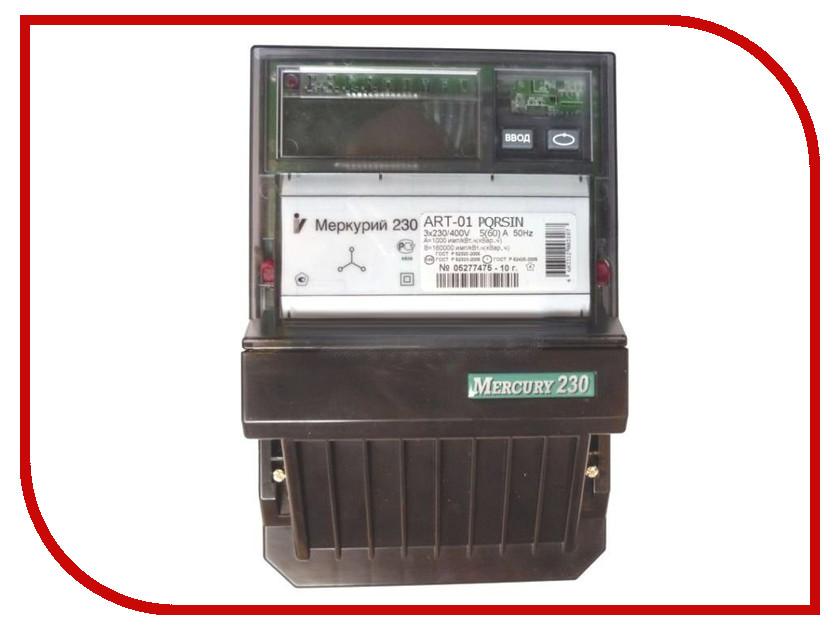 Счетчик электроэнергии Меркурий 230 ART-01 PQRSIN 230/400В