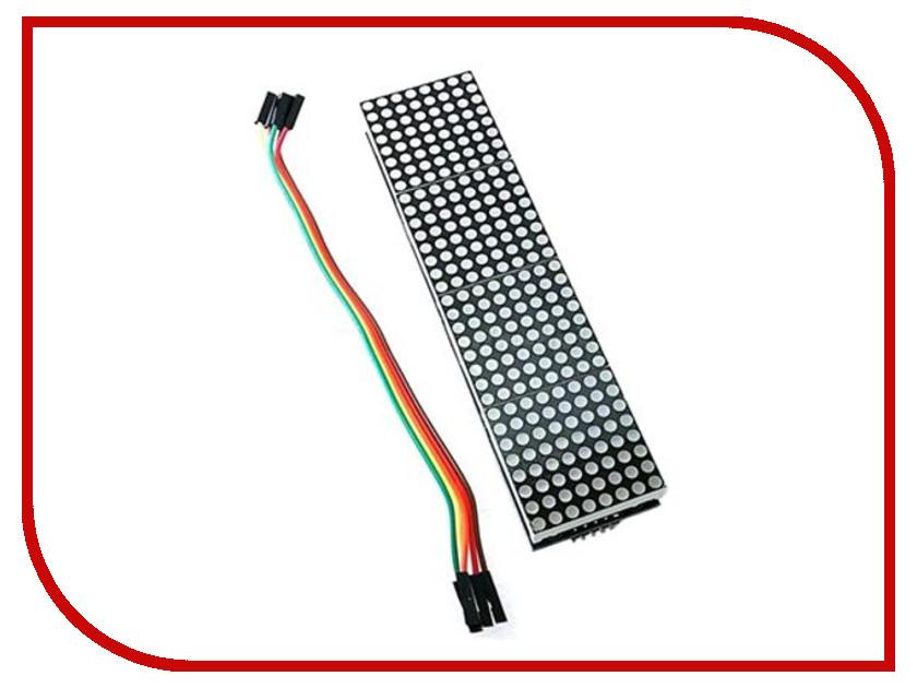 Конструктор Модуль бегущей строки 8x32 Радио КИТ RL012 конструктор модуль fm радиоприёмника радио кит rf019