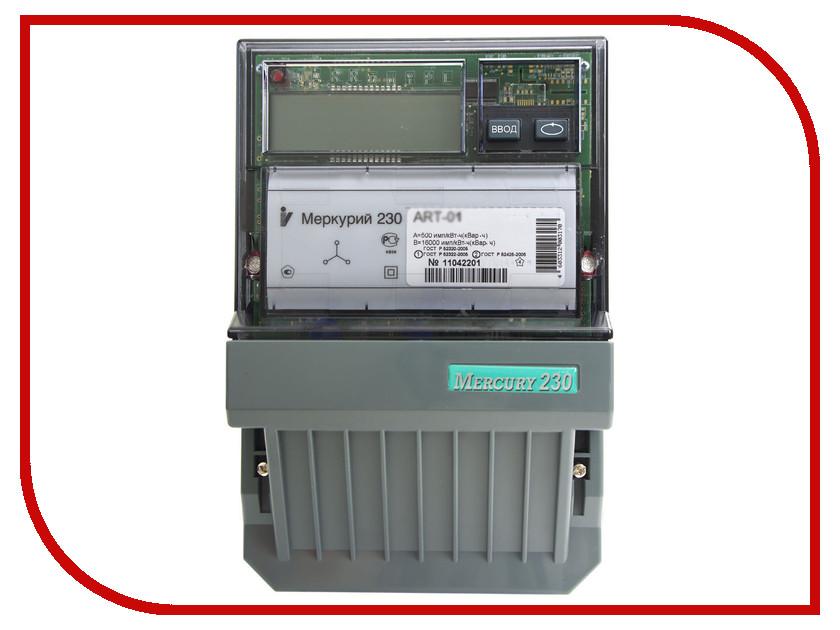 Счетчик электроэнергии Меркурий 230 ART-01 RN 60/5A 230/400В