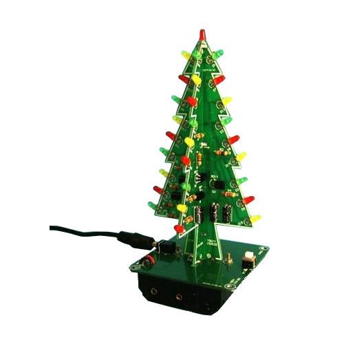 Игрушка Конструктор Радио КИТ RL013 - новогодняя ёлочка от Pleer