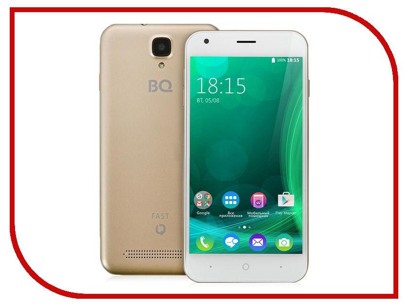 Сотовый телефон BQ BQS-5045 Fast Gold<br>