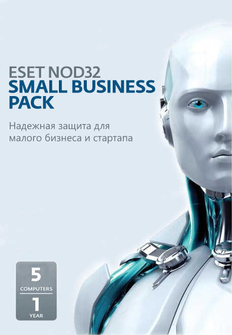 Программное обеспечение Eset NOD32 Small Business Pack Newsale for 5 user NOD32-SBP-NS-CARD-1-5