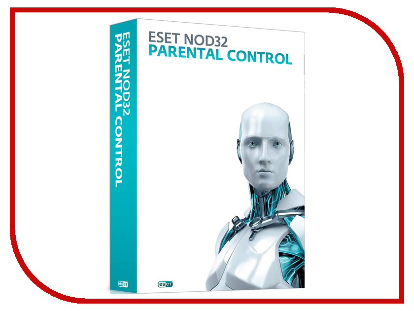Программное обеспечение ESET NOD32 Parental Control 1 год NOD32-EPC-NS-BOX-1-1<br>