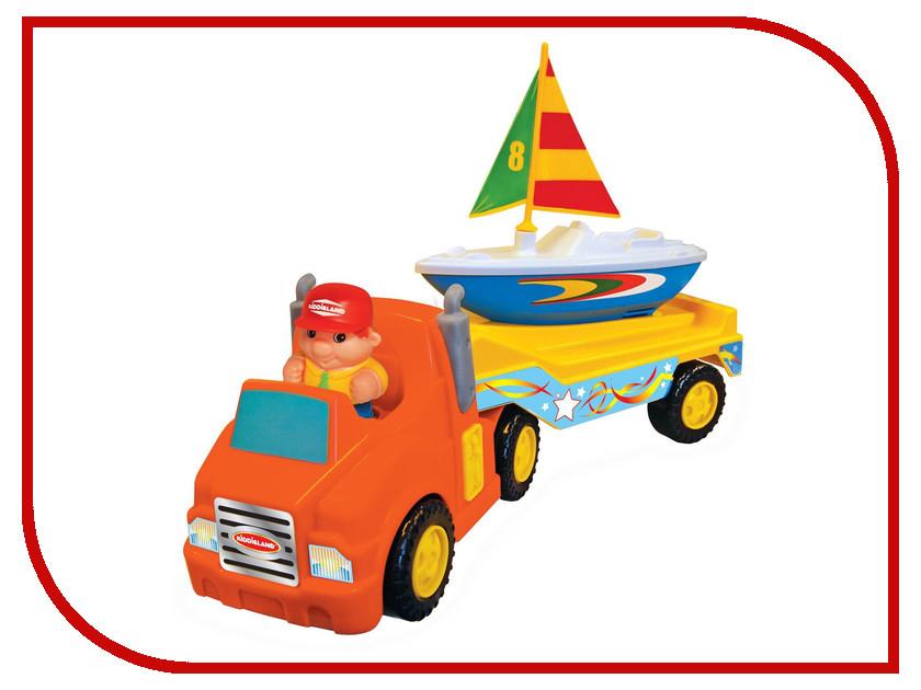 Игрушка Kiddieland Трейлер с яхтой KID 047928<br>