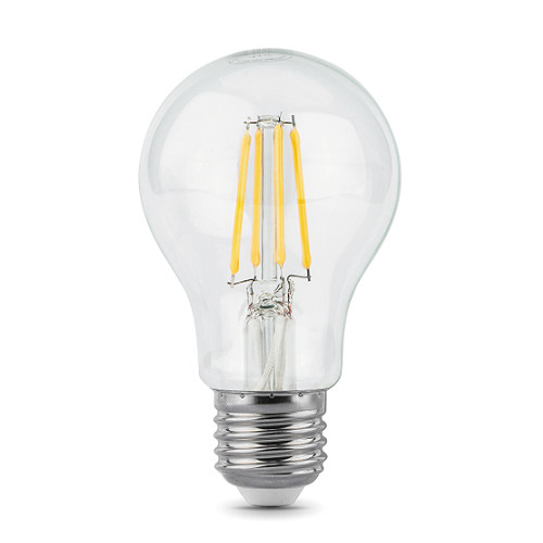 Лампочка Gauss LED Filament E27 A60 6W 4100К 102802206