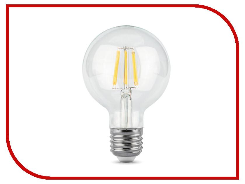 Лампочка Gauss LED Filament G95 E27 6W 2700K 105802106
