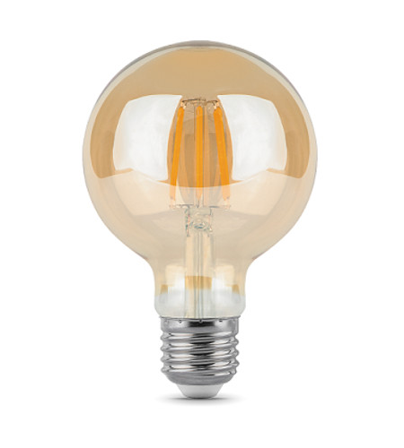 Лампочка Gauss LED Filament G95 E27 6W 2400K Golden 105802006
