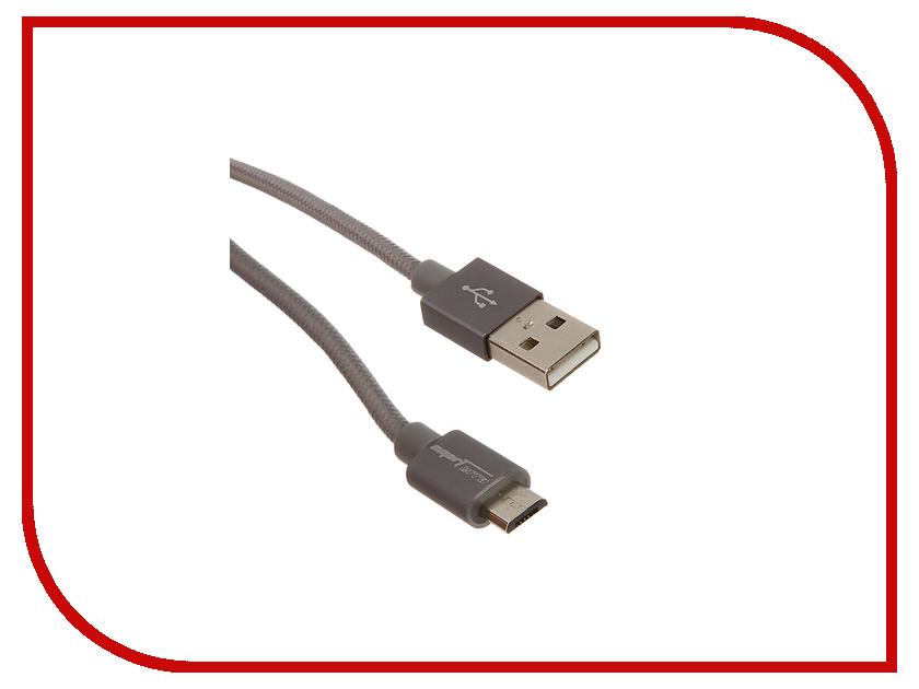 Аксессуар Smarterra USB - Micro USB 1m Grey STR-MU002<br>