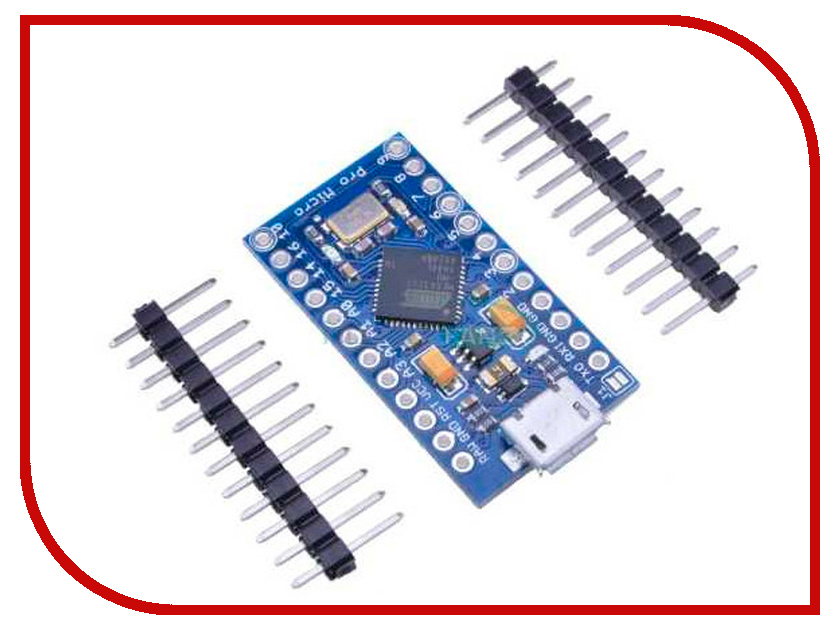 Конструктор Конструктор Радио КИТ RC060 - Arduino Pro Micro 5V/16MHz 5pcs pro mini atmega328p 5v 16mhz micro controller board module for arduino with pin headers
