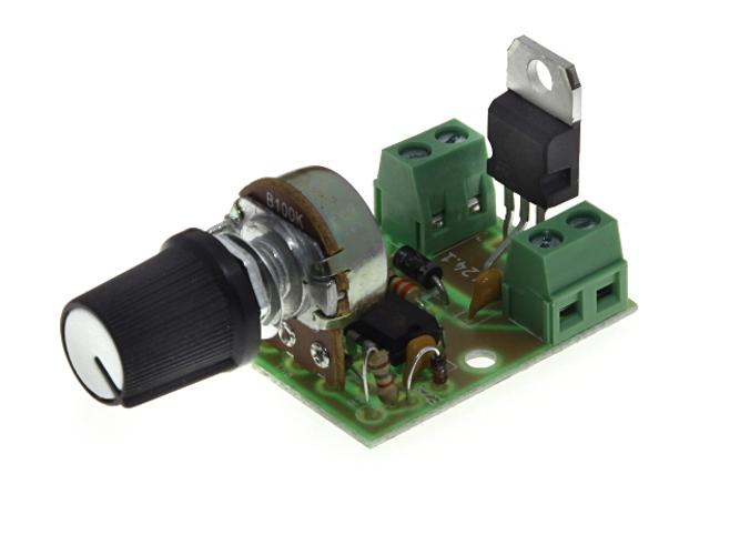 Конструктор Радио КИТ Регулятор мощности RP124.1 с ШИМ