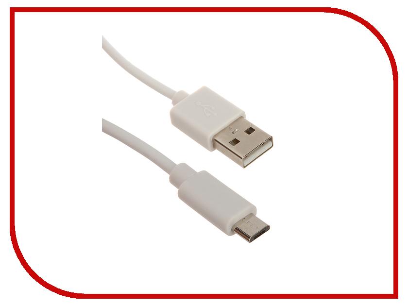 Аксессуар Smarterra USB - Micro USB 1m White STR-MU001<br>