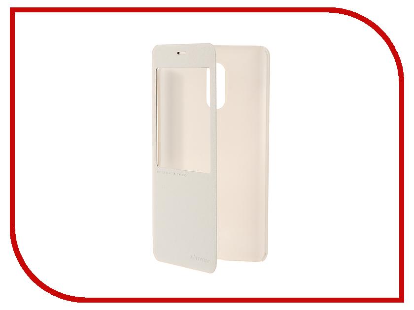 Аксессуар Чехол Xiaomi Redmi Pro Nillkin Sparkle White 12351