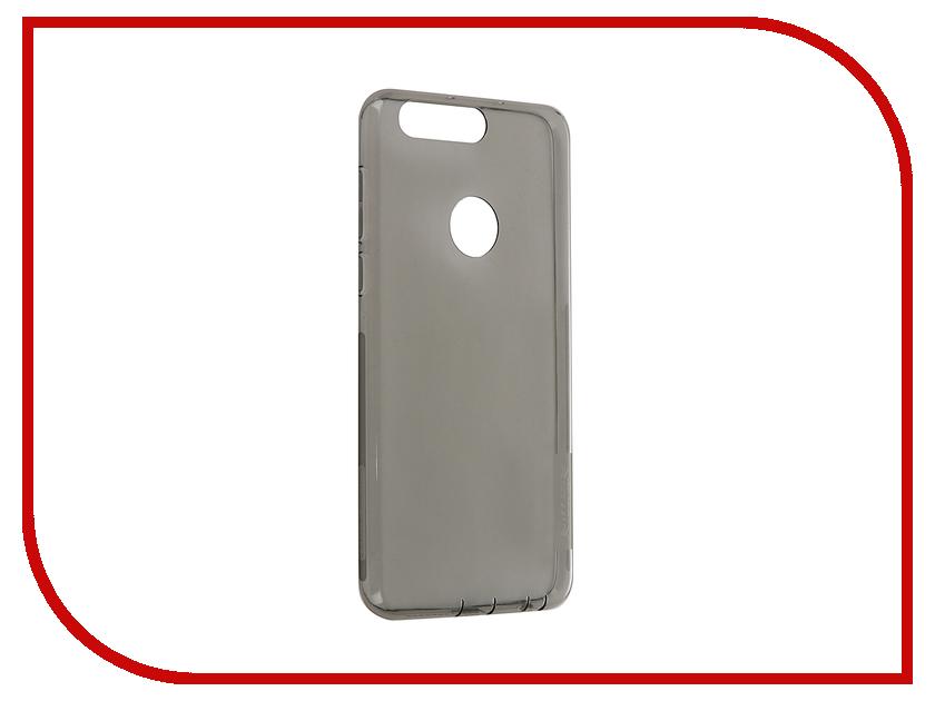 Аксессуар Чехол Huawei Honor 8 Nillkin Nature TPU 0.6mm Transparent-Black 12422<br>