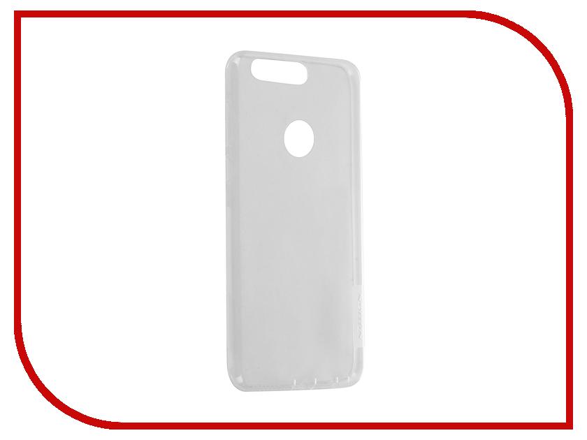 Аксессуар Чехол Huawei Honor 8 Nillkin Nature TPU 0.6mm Transparent-White 12420<br>