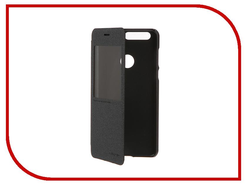 Аксессуар Чехол Huawei Honor 8 Nillkin Sparkle Black 12317<br>