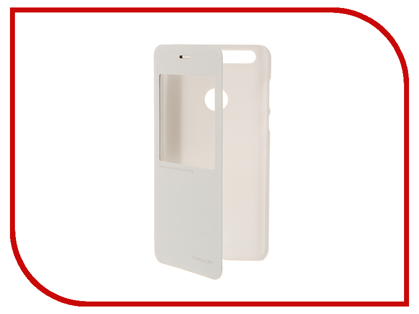 Аксессуар Чехол Huawei Honor 8 Nillkin Sparkle White 12314<br>