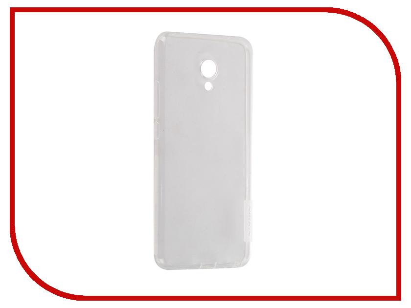 Аксессуар Чехол Meizu MX6 Nillkin Nature TPU 0.6mm Transparent-White 12423<br>