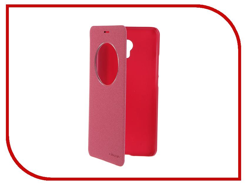 Аксессуар Чехол Meizu MX6 Nillkin Sparkle Red 12323