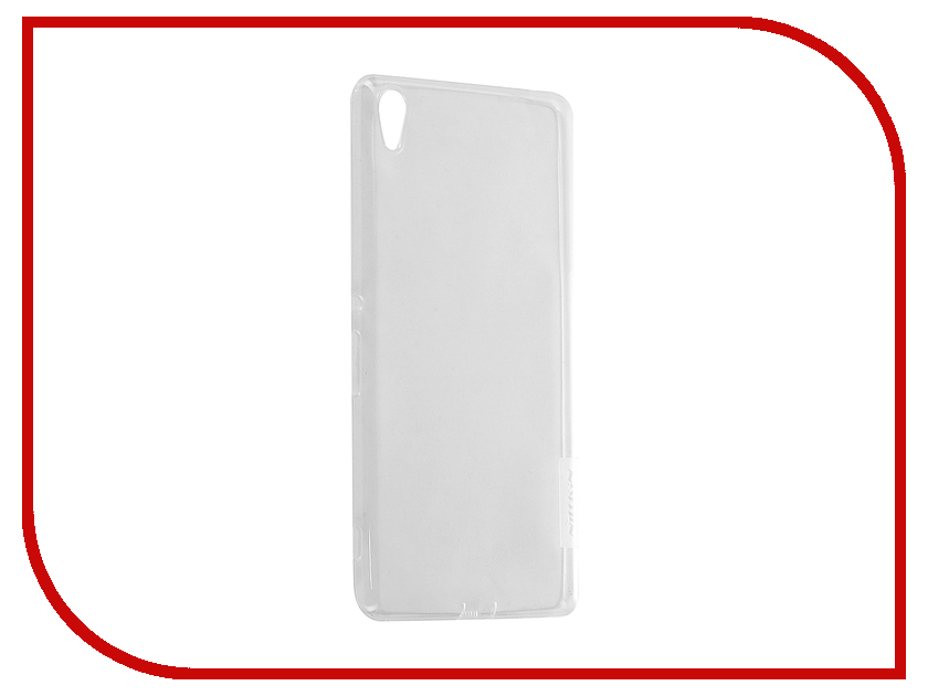 Аксессуар Чехол Sony Xperia XA Ultra Nillkin Nature TPU 0.6mm Transparent-White 12434<br>