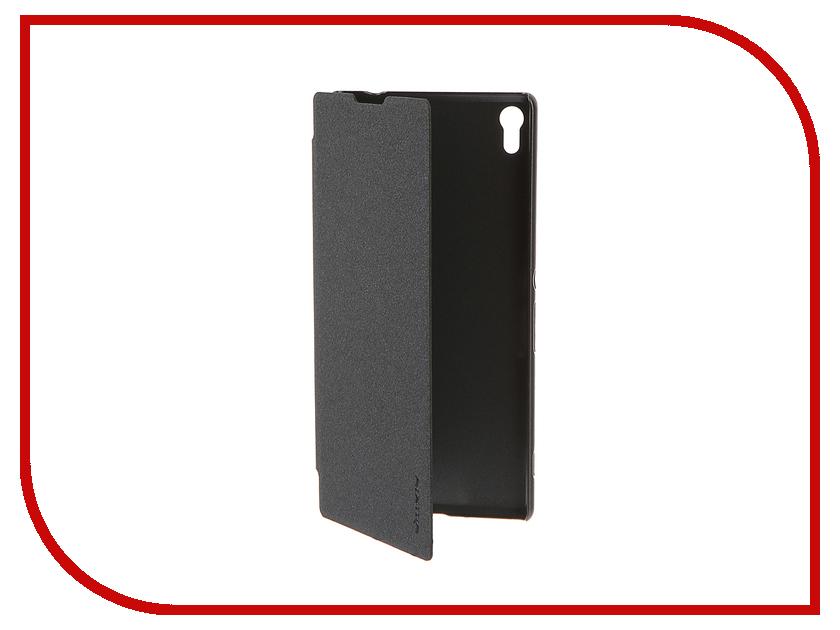 Аксессуар Чехол Sony Xperia XA Ultra Nillkin Sparkle Black 12350<br>