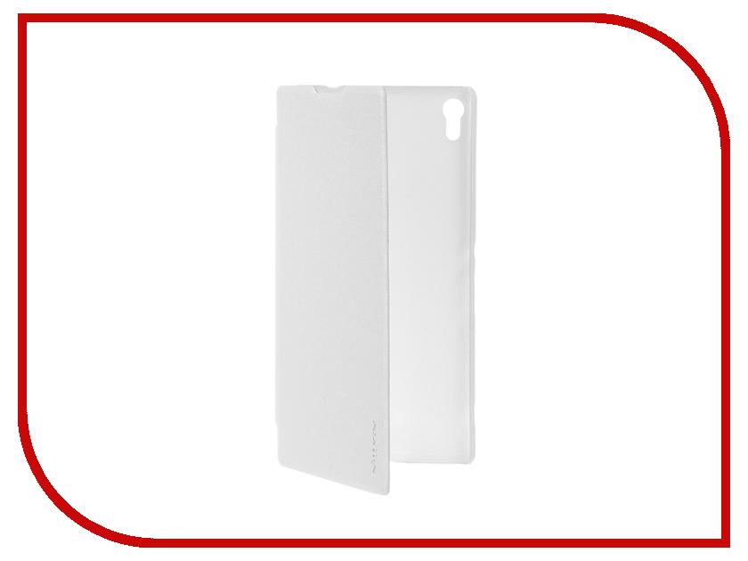 Аксессуар Чехол Sony Xperia XA Ultra Nillkin Sparkle White 12347<br>