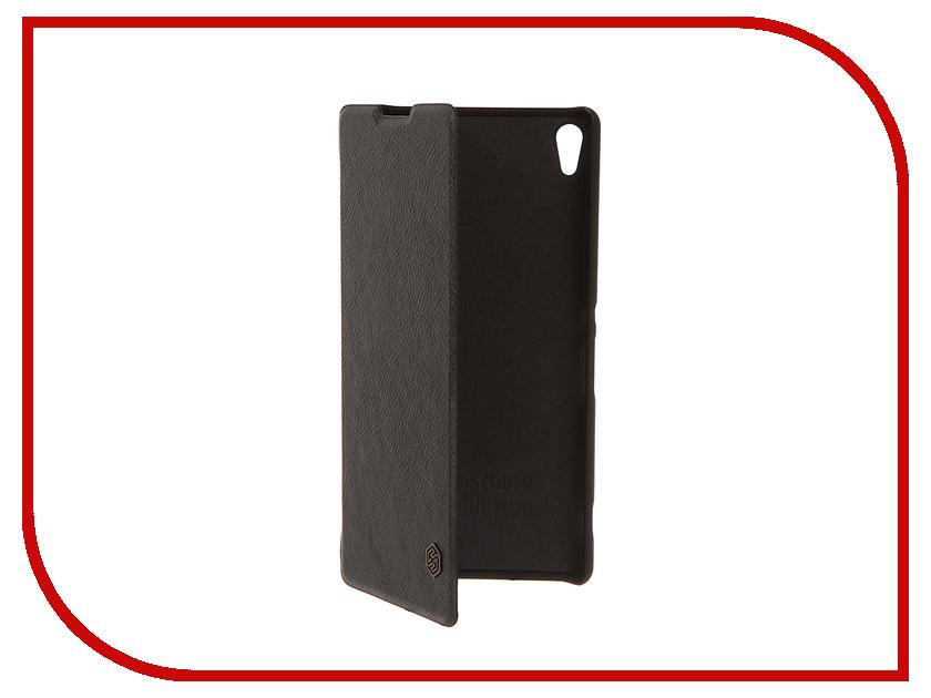 Аксессуар Чехол Sony Xperia XA Ultra Nillkin QIN Black 12346<br>