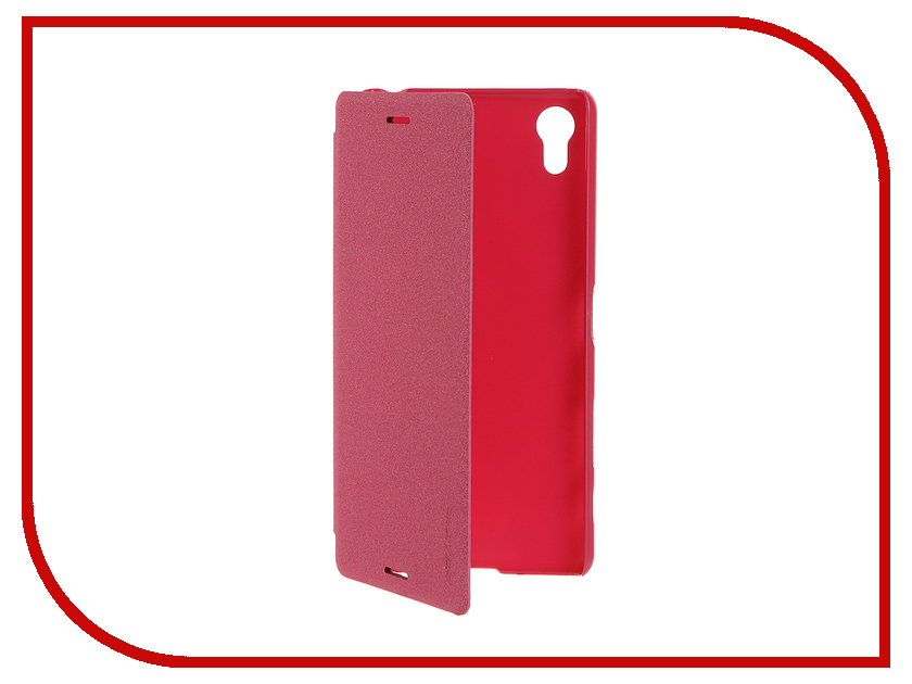 Аксессуар Чехол Sony Xperia X Performance Nillkin Sparkle Red 12341<br>