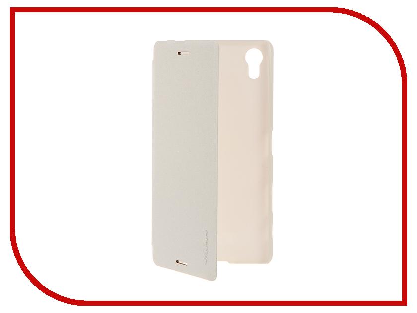 Аксессуар Чехол Sony Xperia X Performance Nillkin Sparkle White 12339<br>