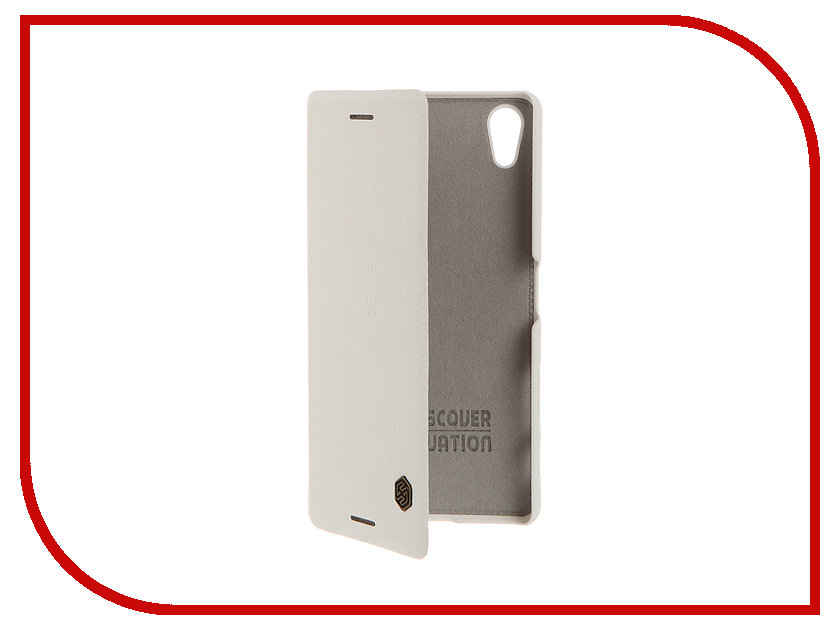 Аксессуар Чехол Sony Xperia X Performance Nillkin QIN White 12335