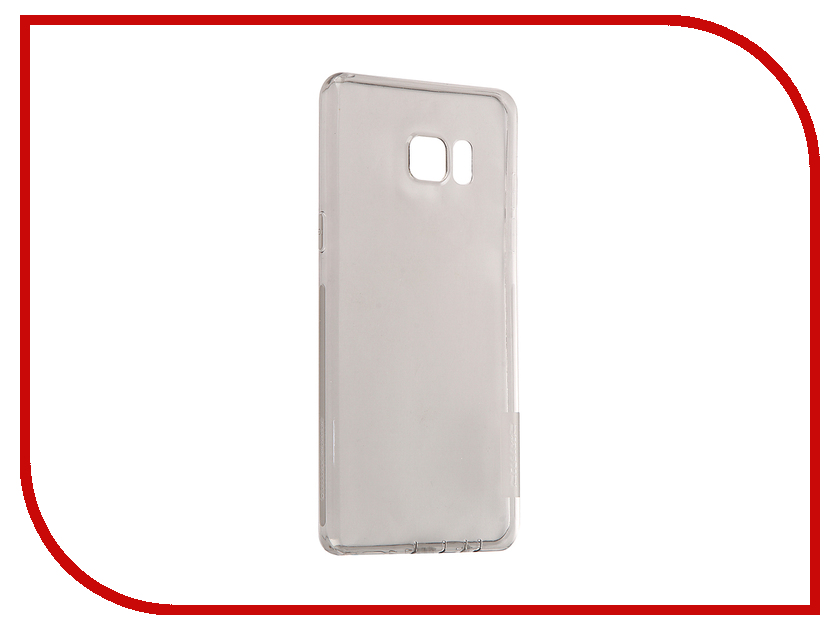 Аксессуар Чехол Samsung Galaxy Note 7 Nillkin Nature TPU 0.6mm Transparent-Black 12433 аксессуар чехол samsung galaxy a3 2017 cojess tpu 0 3mm transparent