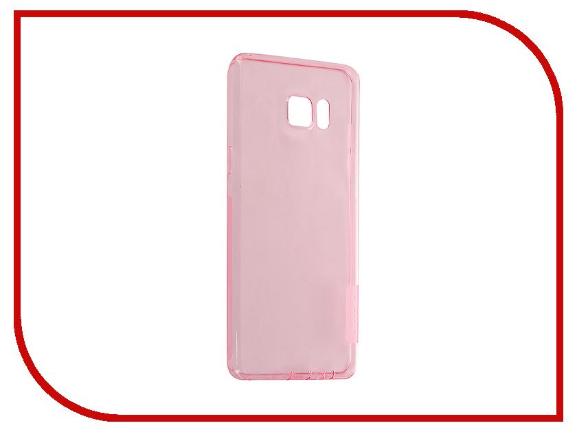 Аксессуар Чехол Samsung Galaxy Note 7 Nillkin Nature TPU 0.6mm Transparent-Pink 12432<br>