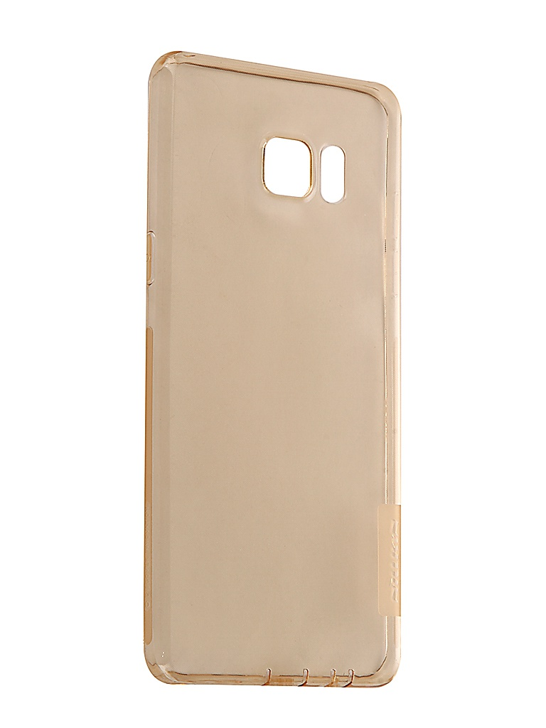 Аксессуар Чехол Nillkin для Samsung Galaxy Note 7 Nature TPU 0.6mm Transparent-Gold 12431