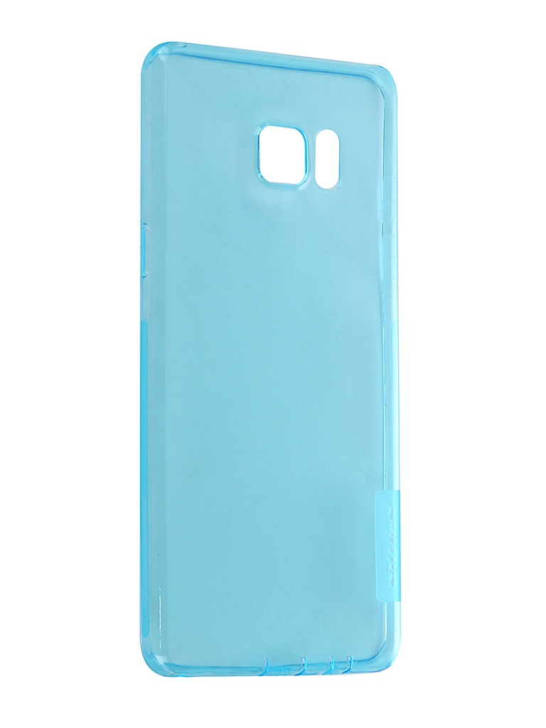 Чехол Nillkin для Samsung Galaxy Note 7 Nature TPU 0.6mm Transparent-Light Blue 12430