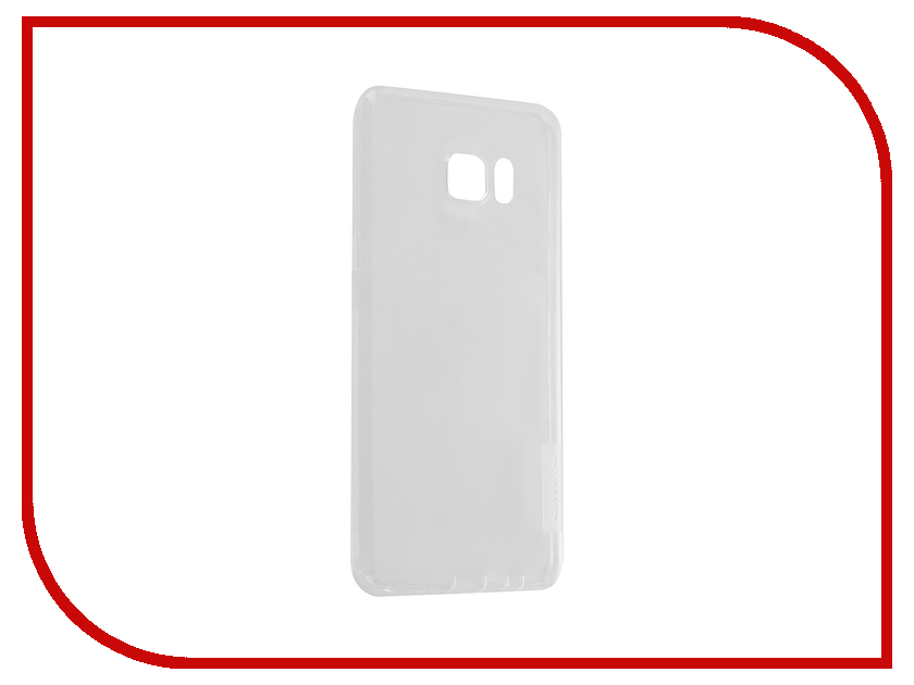 Аксессуар Чехол Samsung Galaxy Note 7 Nillkin Nature TPU 0.6mm Transparent-White 12429