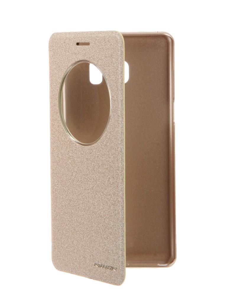 Аксессуар Чехол Nillkin для Samsung Galaxy Note 7 Sparkle Gold 12333