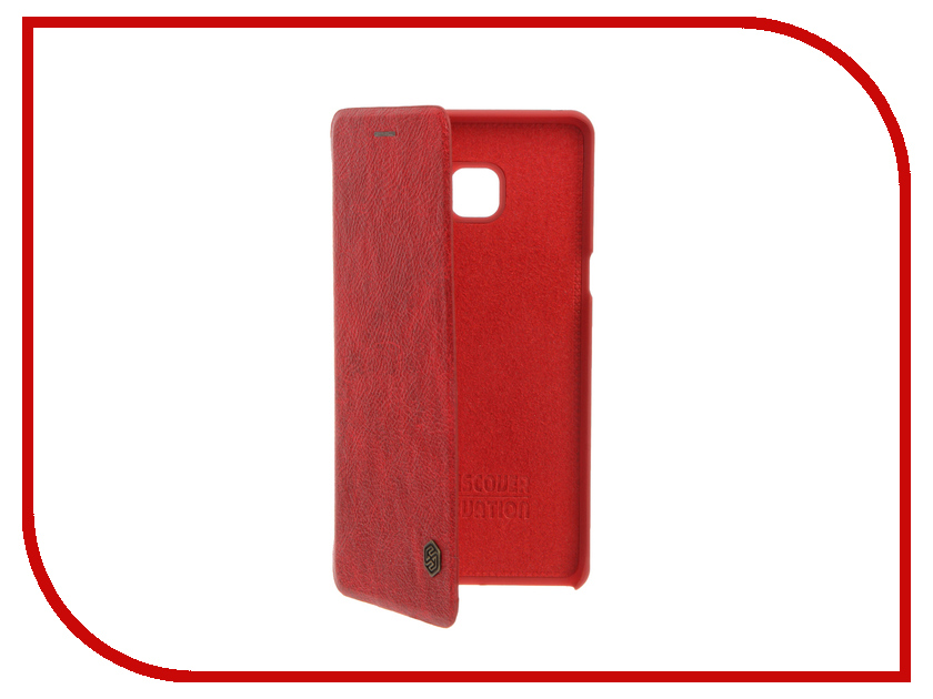 Аксессуар Чехол Samsung Galaxy Note 7 Nillkin QIN Red 12331<br>