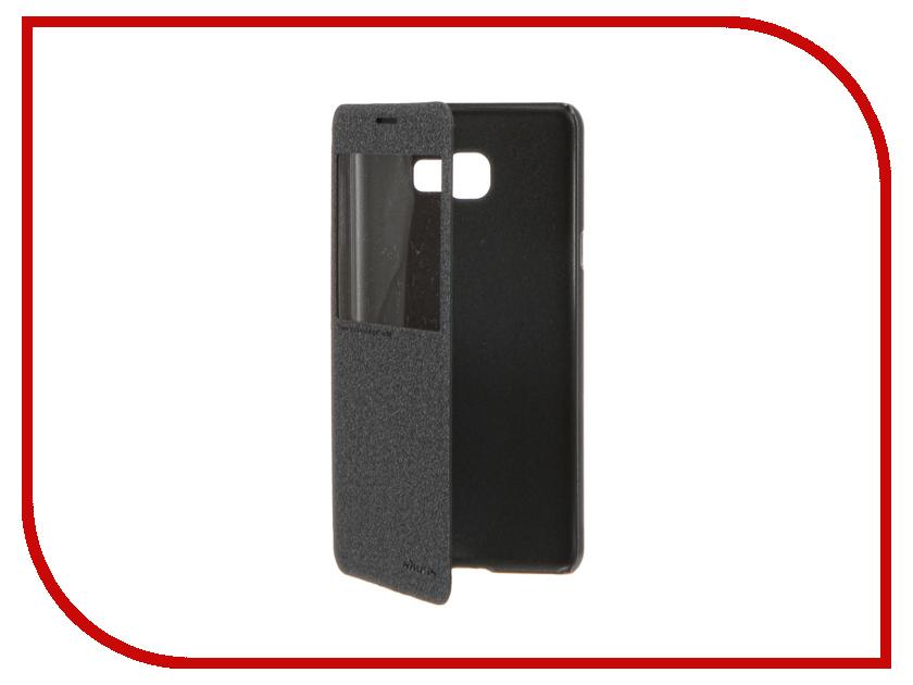 Аксессуар Чехол Samsung Galaxy C7 Nillkin Sparkle Black 12328<br>