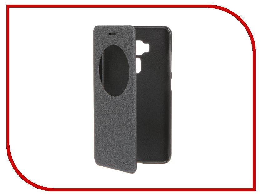 Аксессуар Чехол ASUS ZenFone 3 ZE552KL Nillkin Sparkle Black 12313<br>