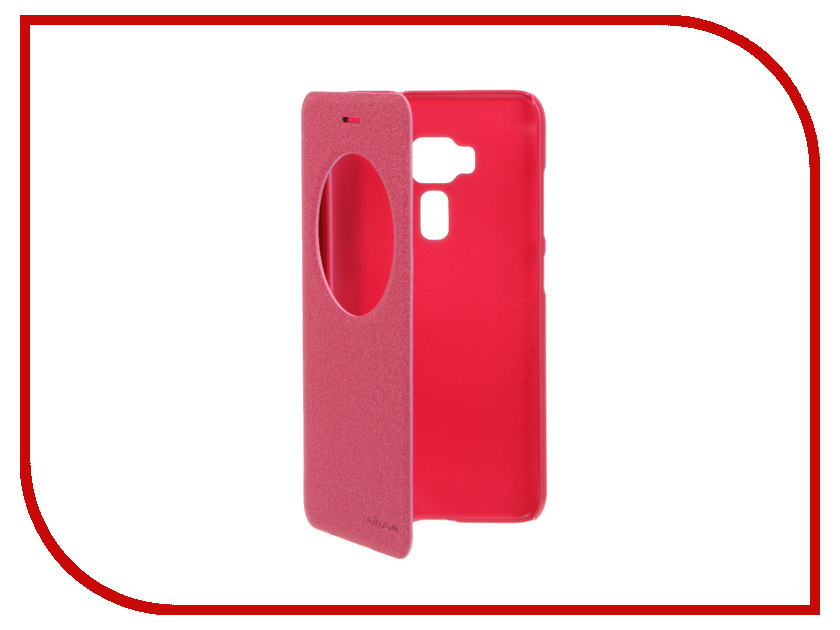 Аксессуар Чехол ASUS ZenFone 3 ZE552KL Nillkin Sparkle Red 12312<br>