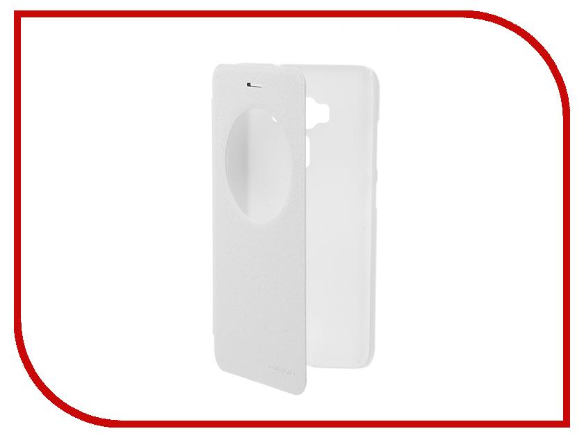 Аксессуар Чехол ASUS ZenFone 3 ZE552KL Nillkin Sparkle White 12310<br>