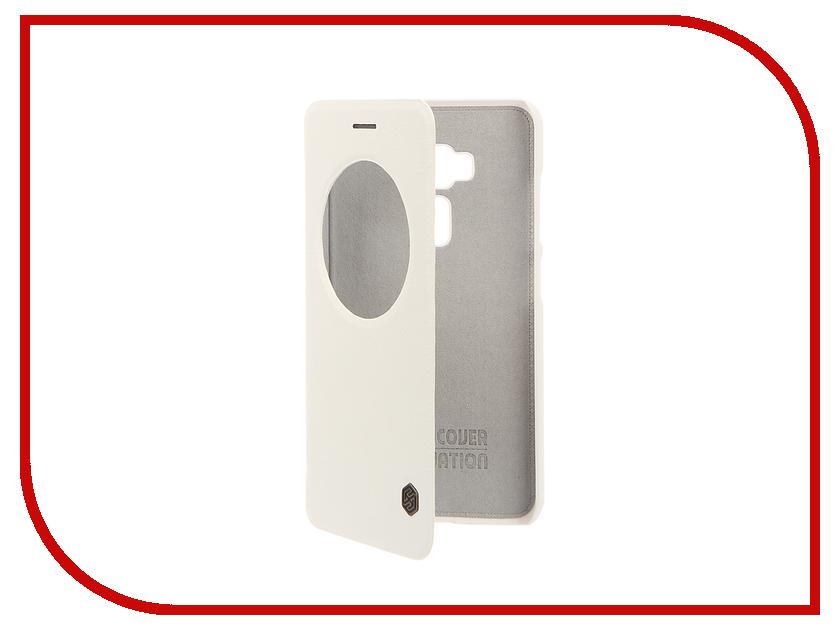 Аксессуар Чехол ASUS ZenFone 3 ZE552KL Nillkin QIN White 12306<br>