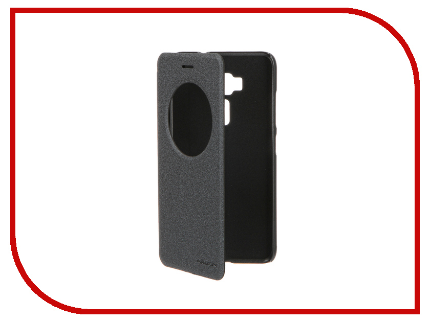 Аксессуар Чехол ASUS ZenFone 3 ZE520KL Nillkin Sparkle Black 12305<br>