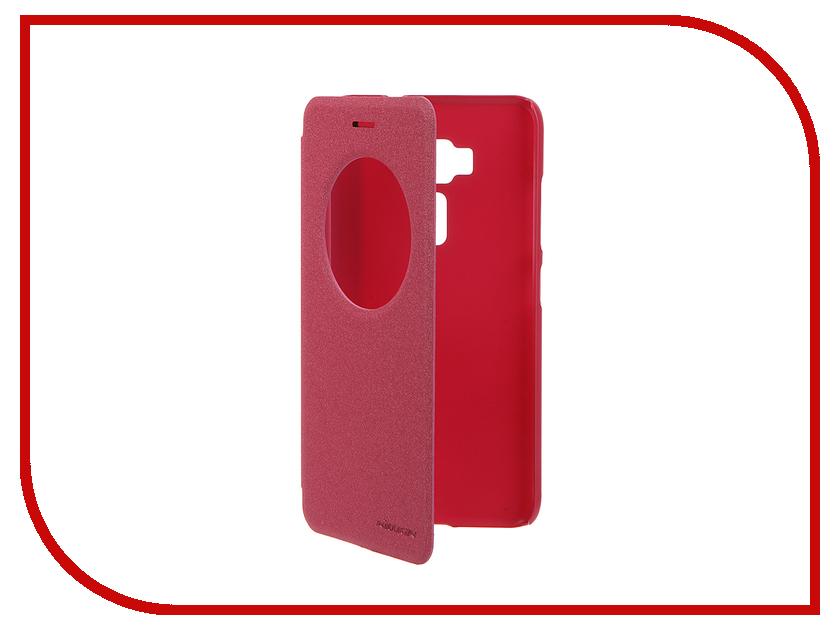 Аксессуар Чехол ASUS ZenFone 3 ZE520KL Nillkin Sparkle Red 12304<br>