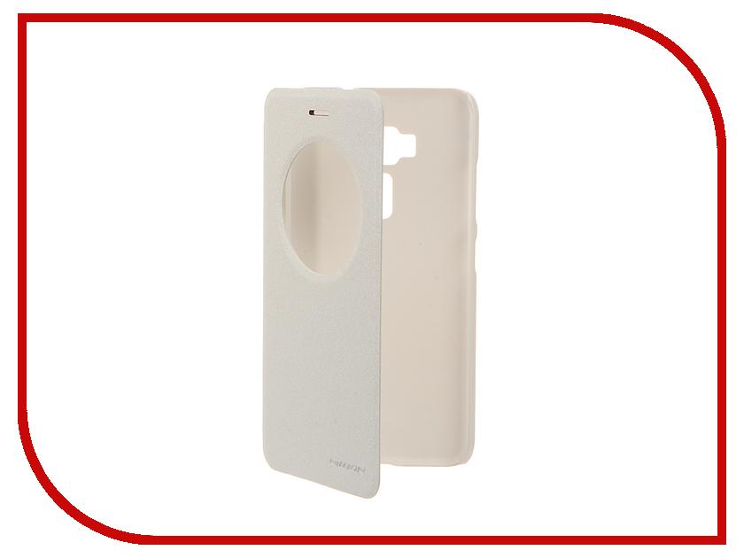 Аксессуар Чехол ASUS ZenFone 3 ZE520KL Nillkin Sparkle White 12302<br>