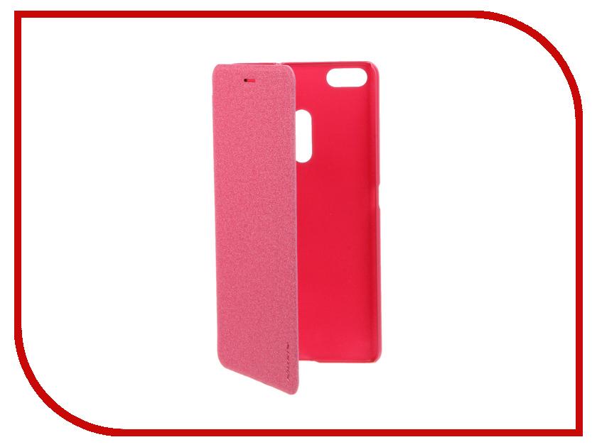 Аксессуар Чехол ASUS ZenFone 3 Ultra ZU680KL Nillkin Sparkle Red 12300<br>